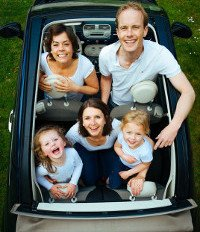 Placing Kids on a Car Seat