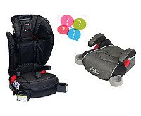 Backless or Highback Booster Safety Seats