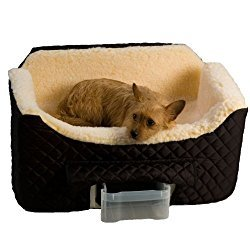 Read Snoozer Large Lookout 2 Dog Seat with Storage Tray review​