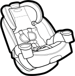 rear-facing seat