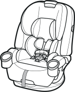 forward-facing seat