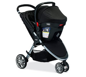 Britax B-Agile & B-Safe 35 Elite Travel System Review 2018 - Pros & Cons