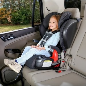 booster car seat in car