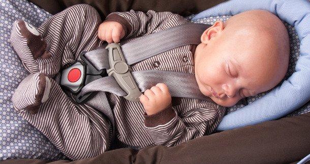 Newborn + Infant Car Seat Harness