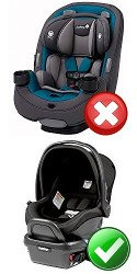 What Other Car Seat Types Work With Newborns Convertible Vs Infant
