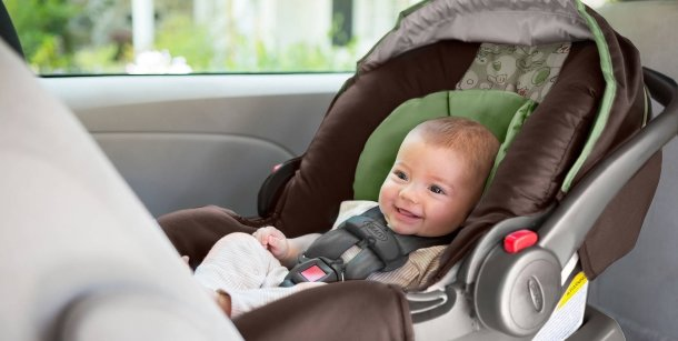 Newborn + Infant Car Seat Harness