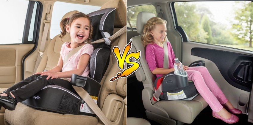 What S Best A High Back Or Backless Booster Seat