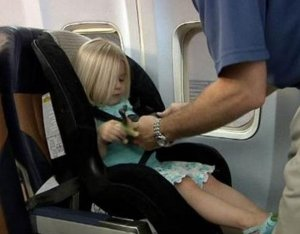 Installing A Car Seat On A Plane