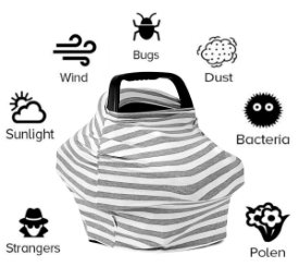 c6a66de0 Infant Car Seat Covers: Protection from Summer to Winter