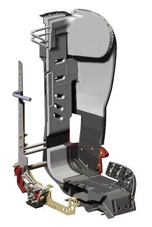 Steel frame Diono Rainier
