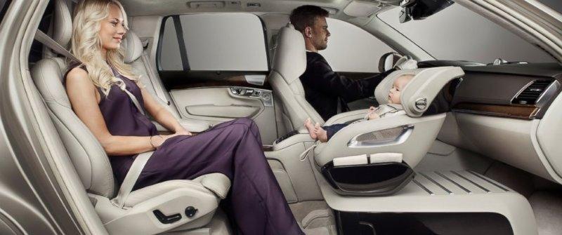 New Car Seat Concept Volvo