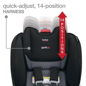 quick-adjust, 14-position harness