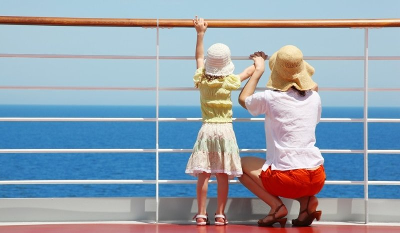 Traveling by cruise ship with children