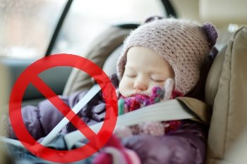 Clothing a Child Should Never Wear in a Car Seat