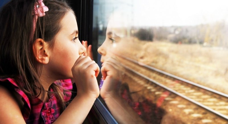 Traveling by train with children