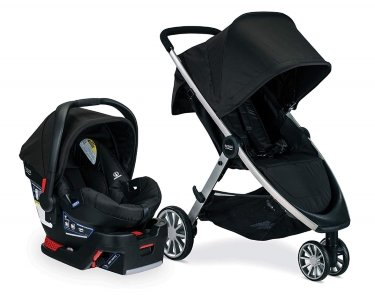 Britax B-Lively & B-Safe 35 car seat and stroller combo