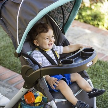 How safe is the FastAction Fold Stroller and Car Seat