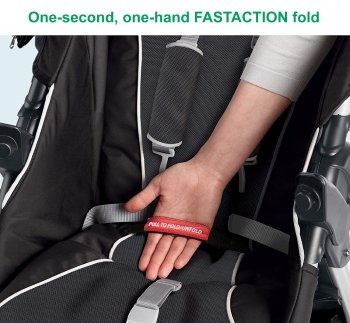 One-second, one-hand FastAction fold