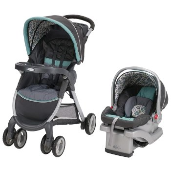 Graco FastAction Fold Travel System (Stroller and Car Seat), Affinia
