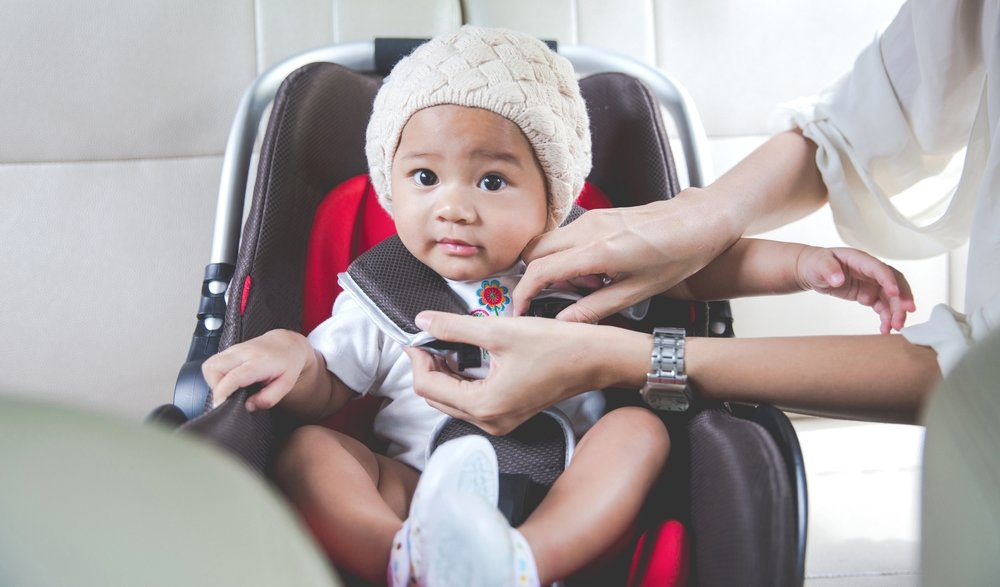 Reinstall the car seat