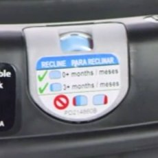 Graco Click Connect - Bubble recline indicator