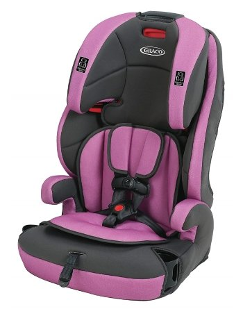 Graco Tranzitions 3-in-1 Harness Booster Convertible Car Seat (Kyte)
