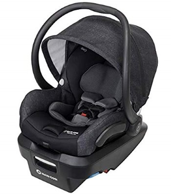 Maxi-Cosi Mico Max Plus Infant Car Seat With Base (Nomad Black)