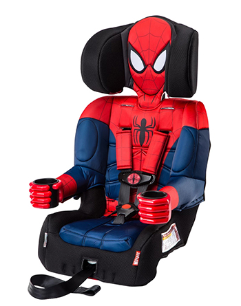 KidsEmbrace 2-in-1 Harness Booster Car Seat (Marvel)